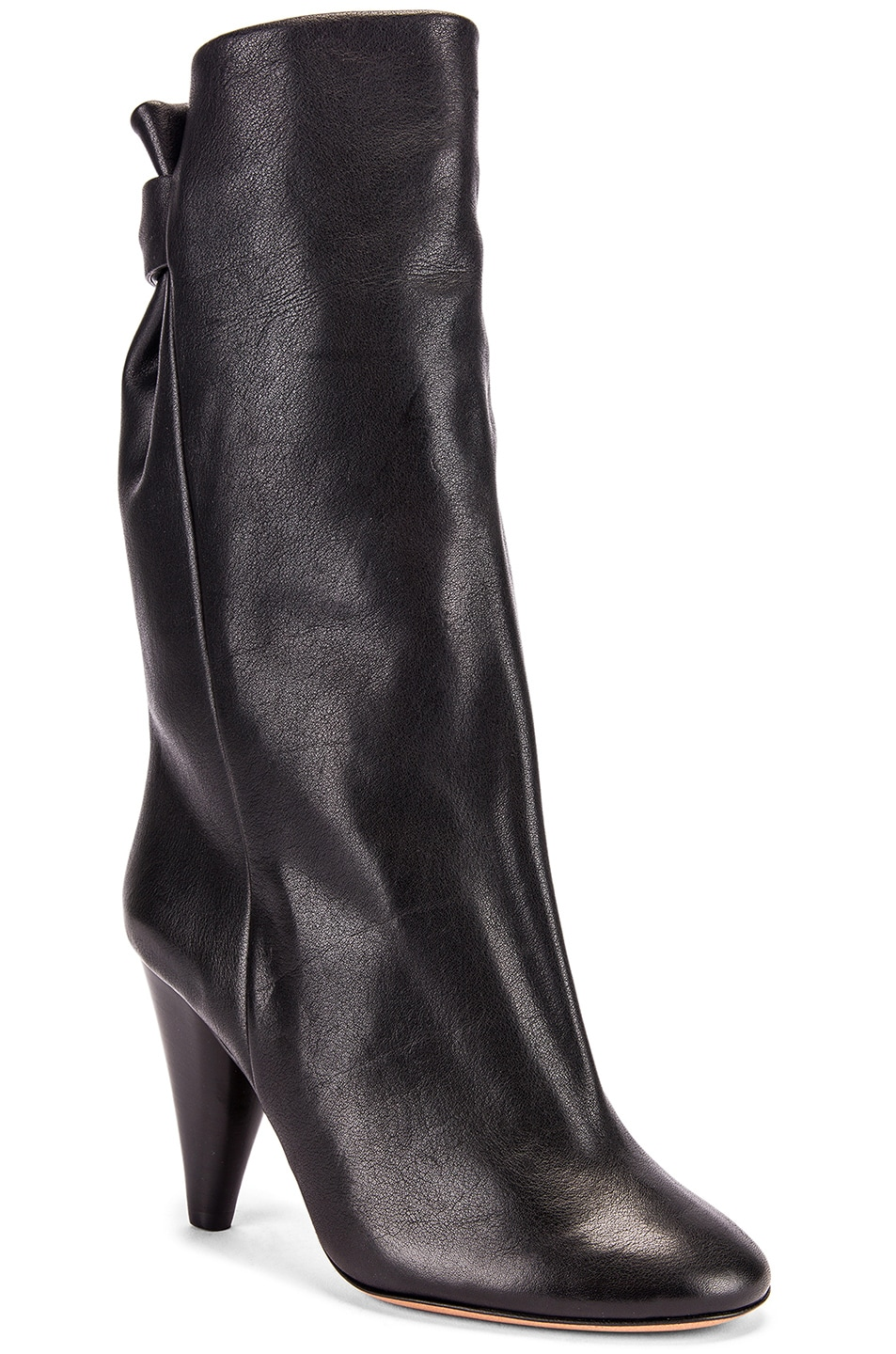 Image 2 of Isabel Marant Lakfee Boot in Black