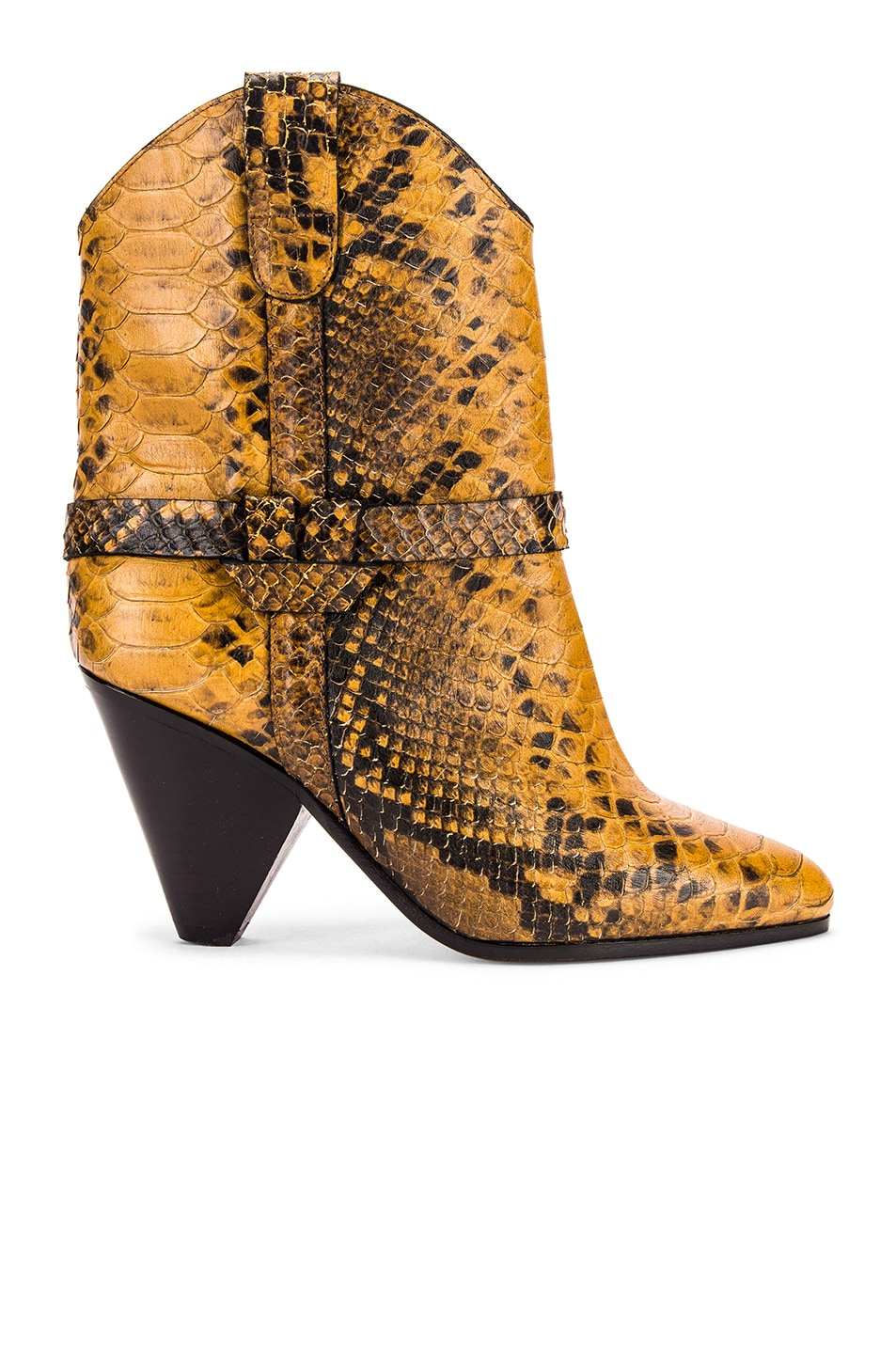 Image 1 of Isabel Marant Deane Boot in Yellow
