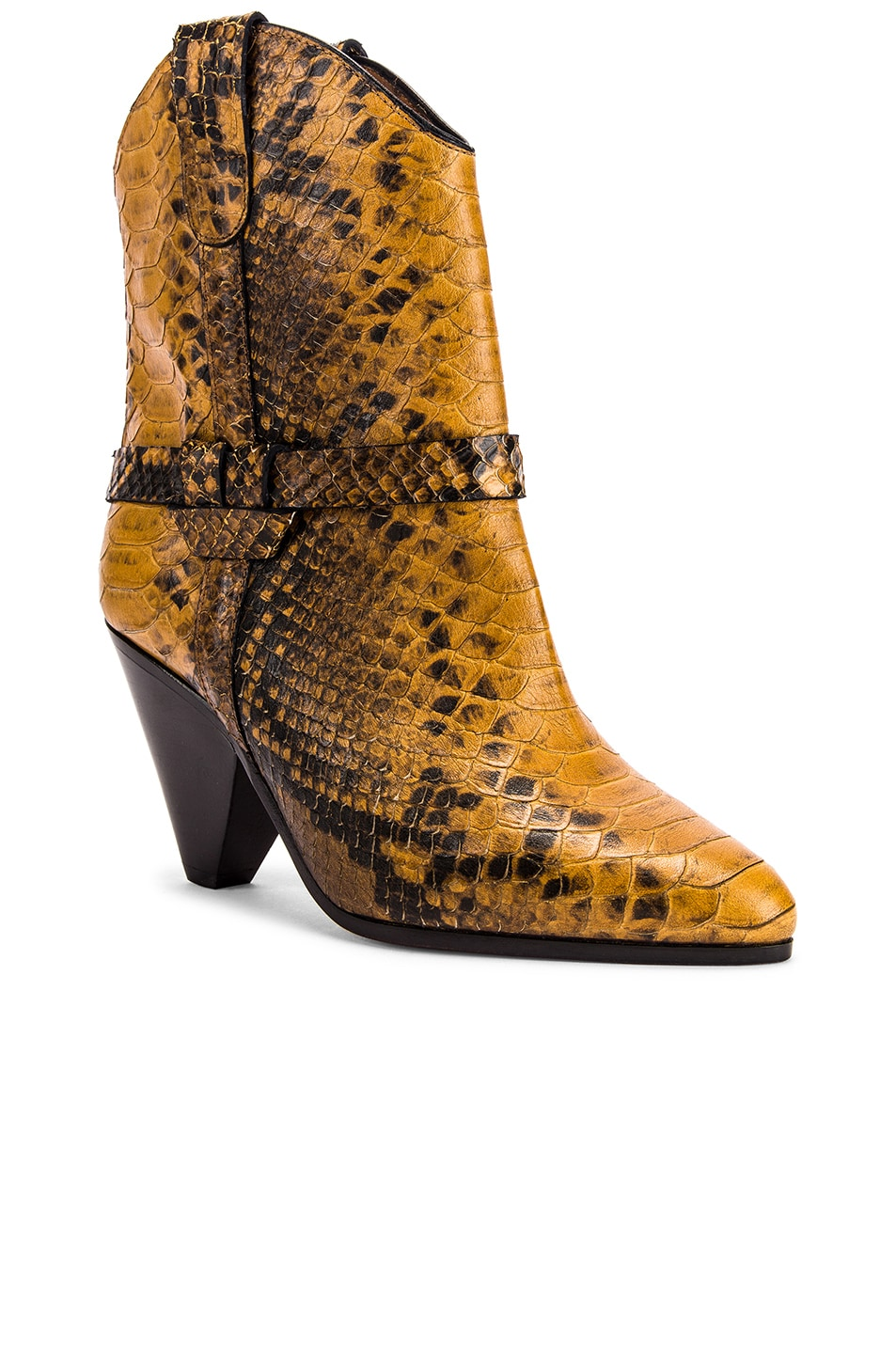 Image 2 of Isabel Marant Deane Boot in Yellow