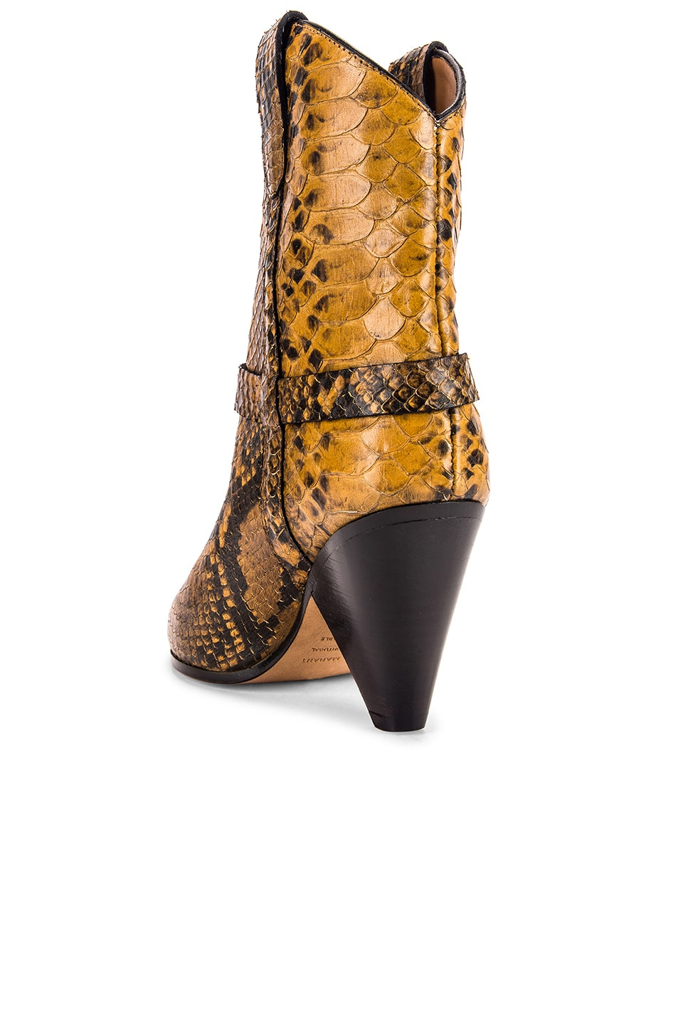 Image 3 of Isabel Marant Deane Boot in Yellow