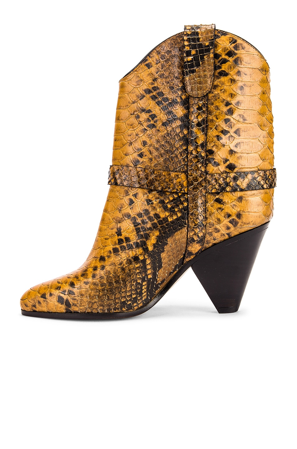 Image 5 of Isabel Marant Deane Boot in Yellow
