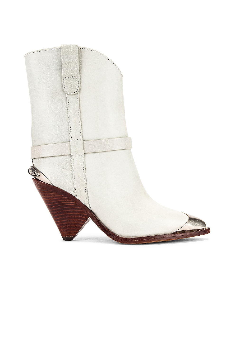 Image 1 of Isabel Marant Lamsy Boot in Chalk