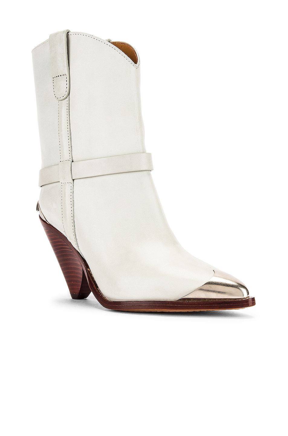 Image 2 of Isabel Marant Lamsy Boot in Chalk