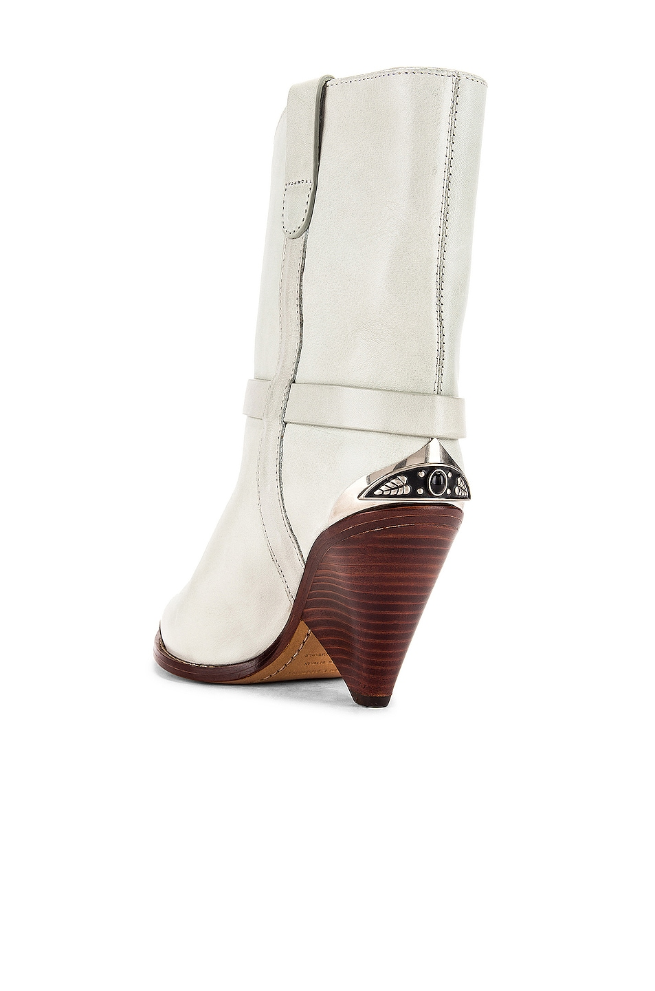 Image 3 of Isabel Marant Lamsy Boot in Chalk