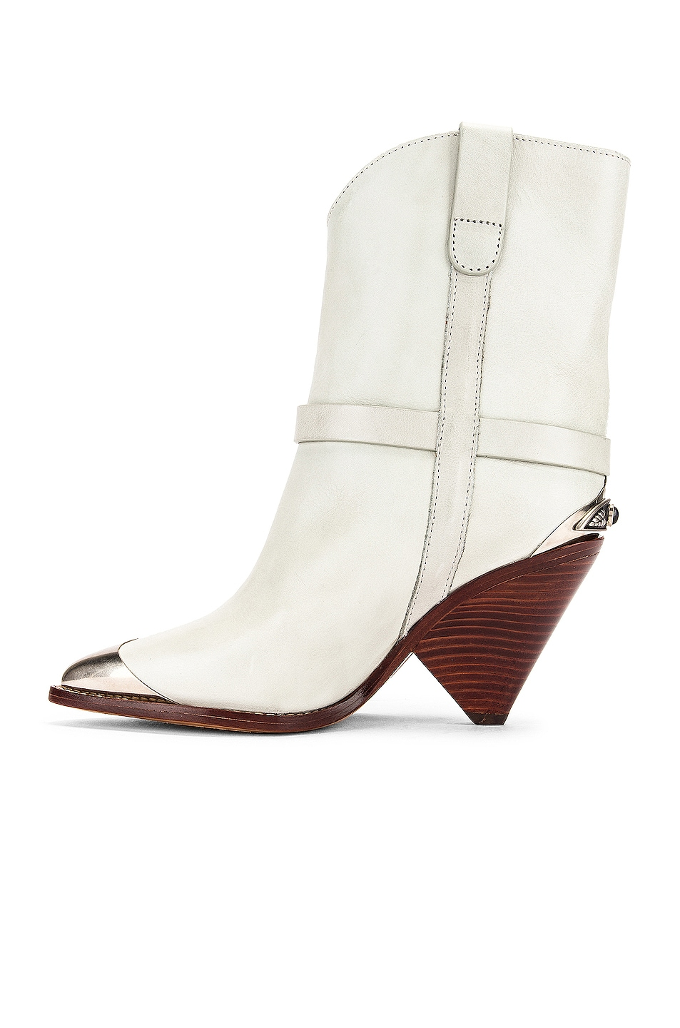 Image 5 of Isabel Marant Lamsy Boot in Chalk