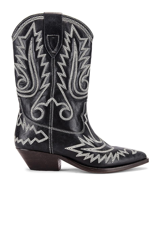 Image 1 of Isabel Marant Duerto Boot in Black & Ecru