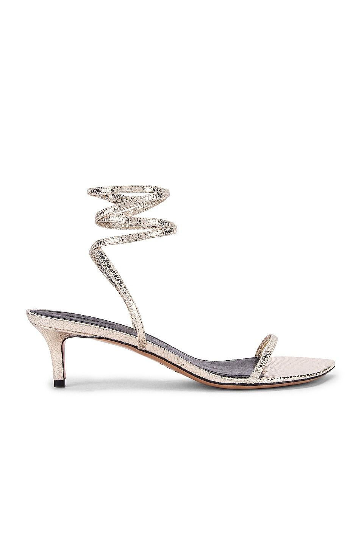 Image 1 of Isabel Marant Aridee Sandal in Gold