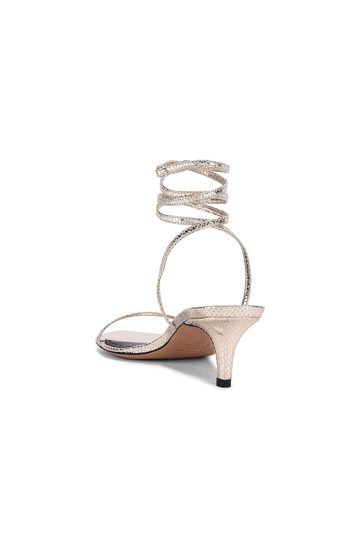 Image 3 of Isabel Marant Aridee Sandal in Gold
