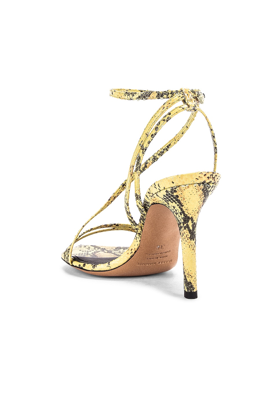 Image 3 of Isabel Marant Axee Sandal in Yellow