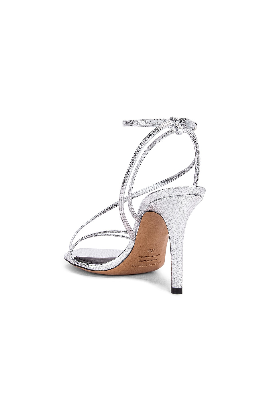 Image 3 of Isabel Marant Axee Sandal in Silver
