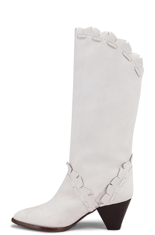 Image 5 of Isabel Marant Leesta Boot in White
