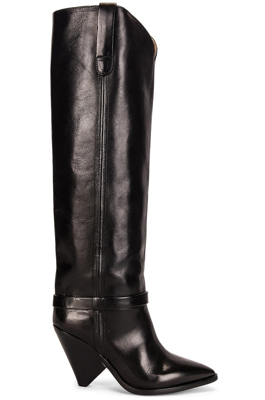 Image 1 of Isabel Marant Lenskee Boot in Black