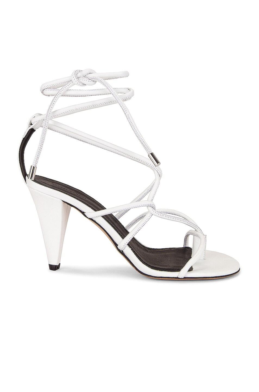 Image 1 of Isabel Marant Abyka Sandal in White