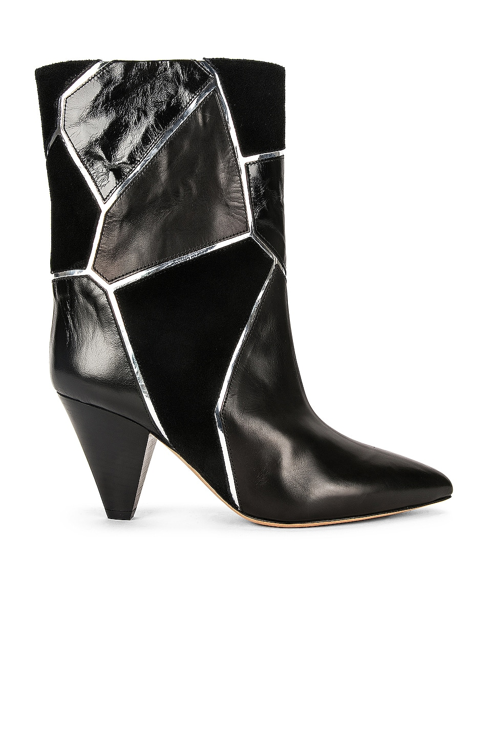 Image 1 of Isabel Marant Lisabel Boot in Black & Silver