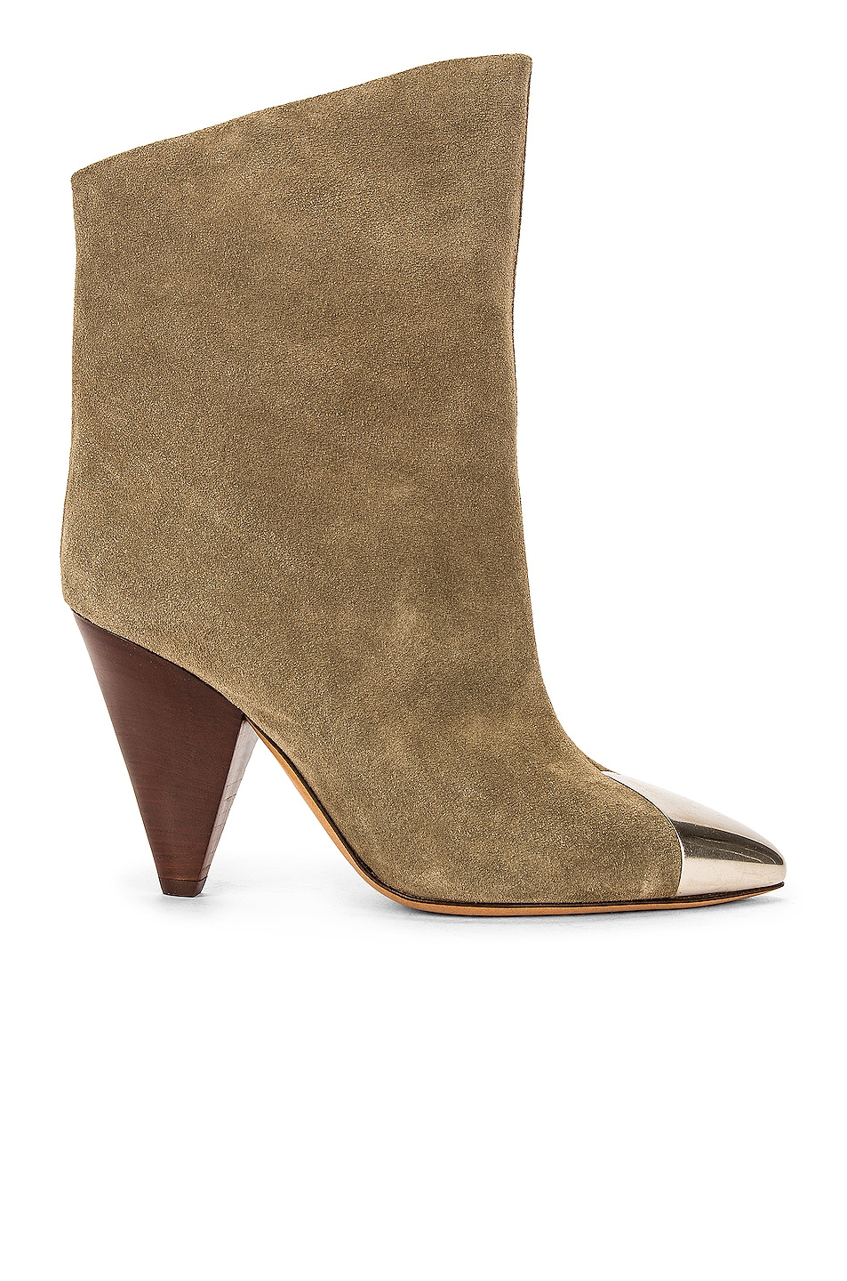 Image 1 of Isabel Marant Lapee Boot in Taupe