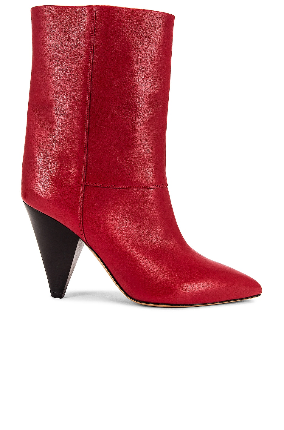 Image 1 of Isabel Marant Locky Boot in Red