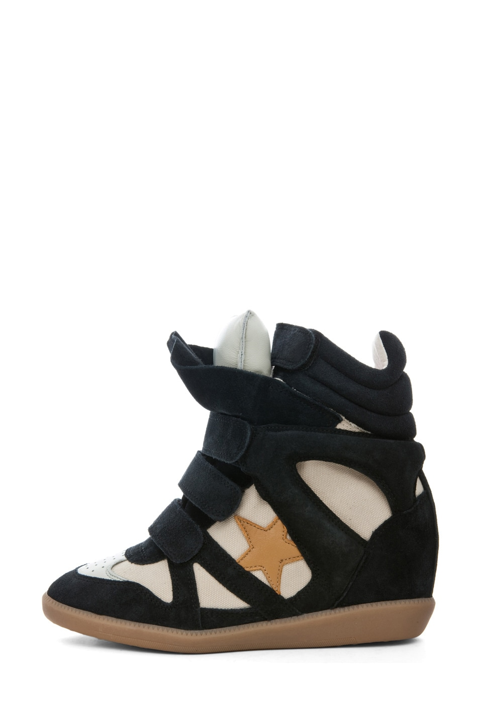 Image 1 of Isabel Marant Bayley Sneaker in Black