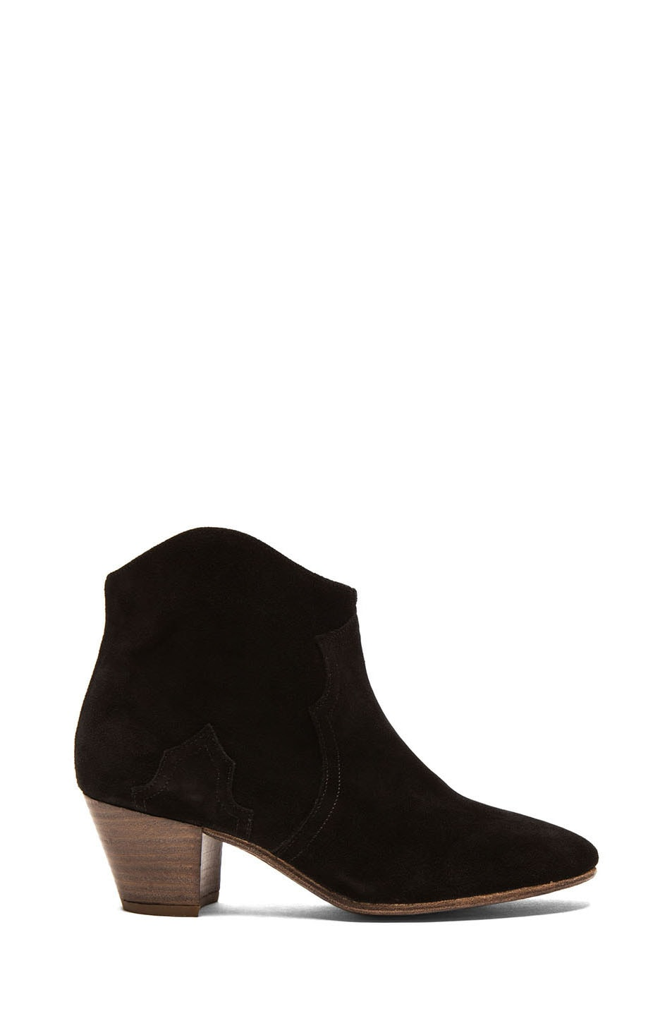Image 1 of Isabel Marant Cluster Calfskin Leather Boots in Black