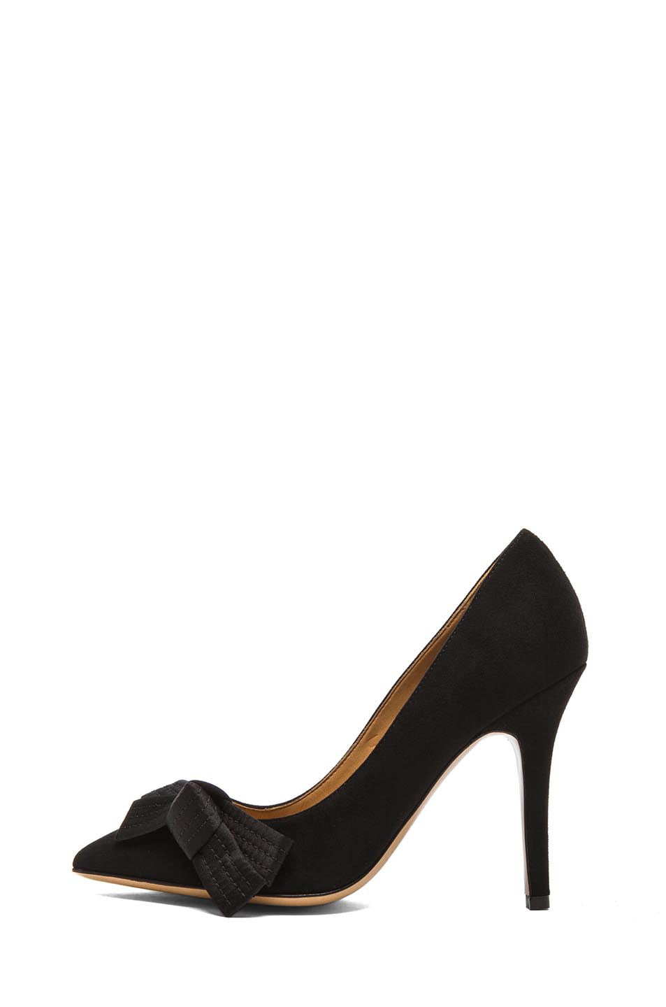 Image 1 of Isabel Marant Poppy Suede Pumps in Black