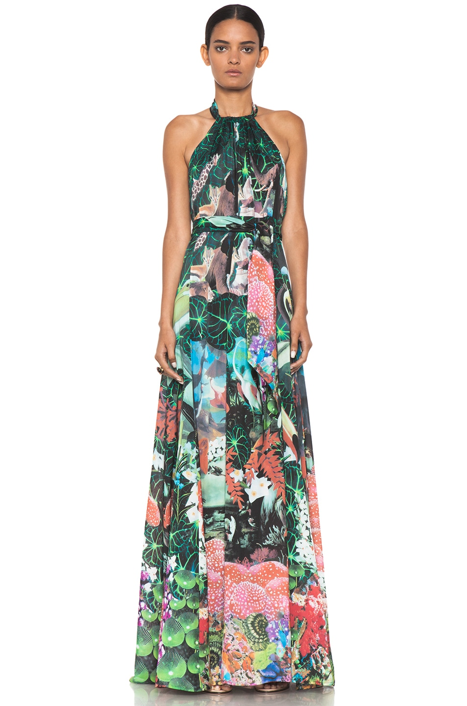 Image 1 of Issa Maxi Dress in Multi