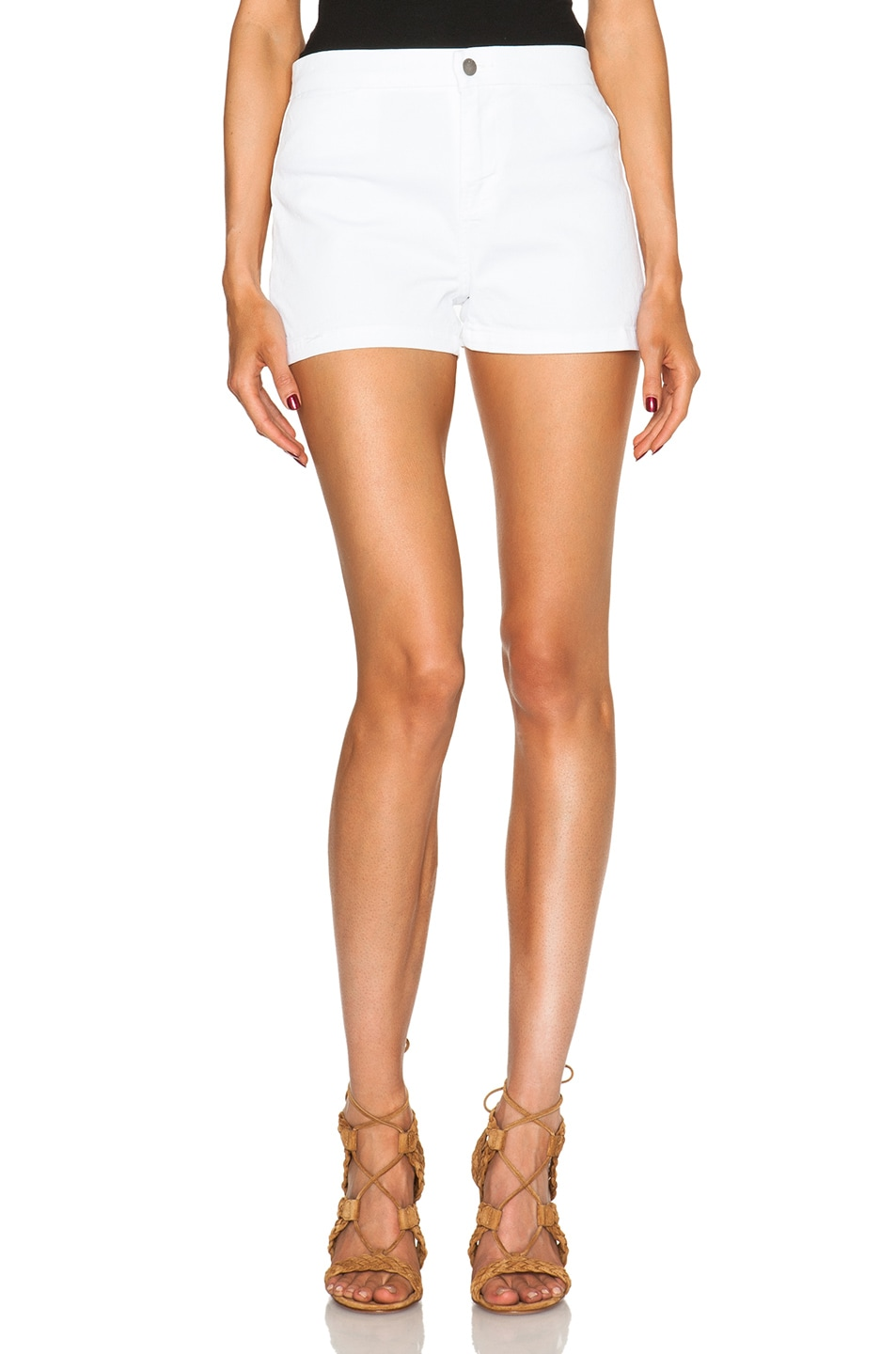 Image 1 of J Brand High Rise Tailored Shorts in Awaken