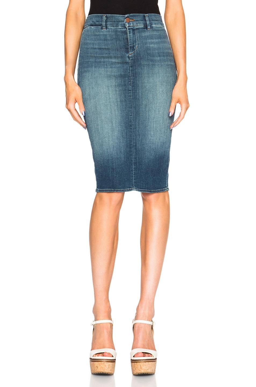 Image 1 of J Brand Pencil Skirt in Ingenue