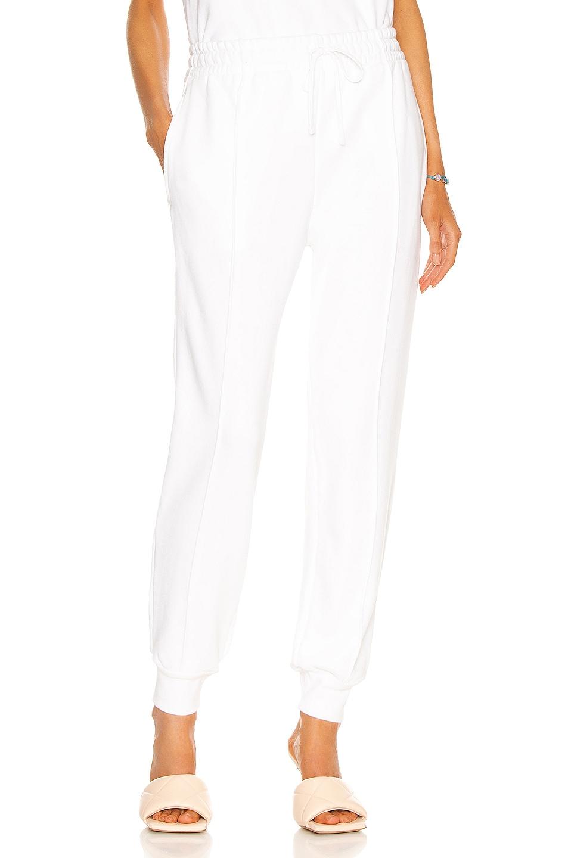 Image 1 of JONATHAN SIMKHAI STANDARD Niya Track Pant in White