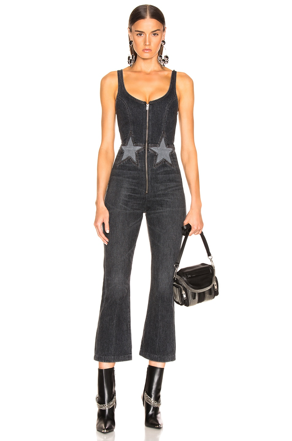 Image 1 of JEAN ATELIER Star Jumpsuit in Night