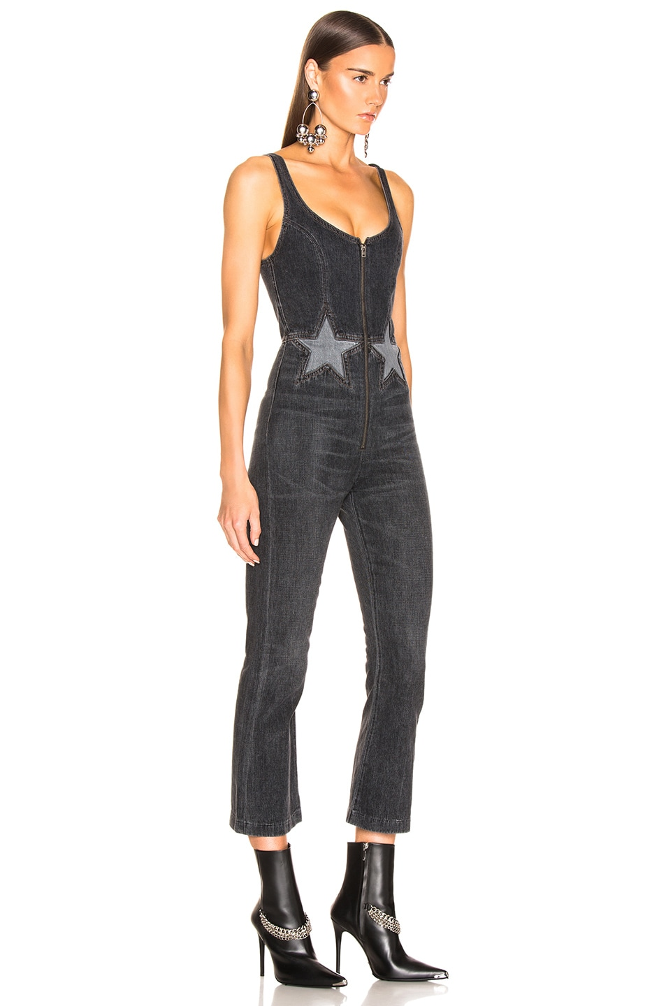 Image 2 of JEAN ATELIER Star Jumpsuit in Night