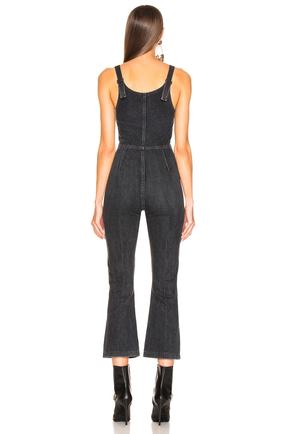 Image 3 of JEAN ATELIER Star Jumpsuit in Night