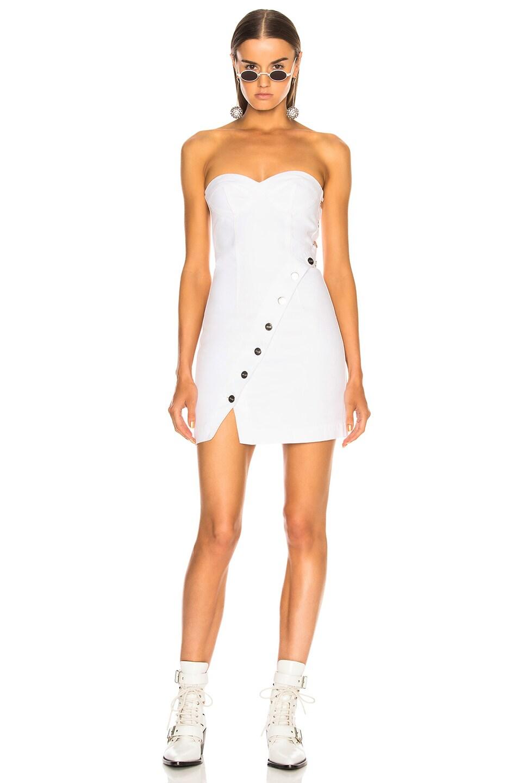 Image 2 of JEAN ATELIER Claudia Mini Dress in Mykonos