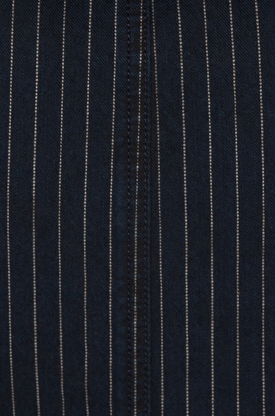Image 4 of JEAN ATELIER Gia Wrap Dress in Pinstripe