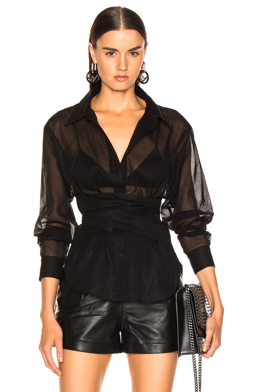 Image 1 of JEAN ATELIER Simone Top in Black
