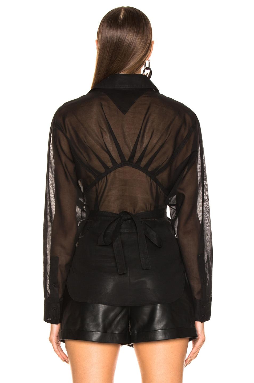 Image 3 of JEAN ATELIER Simone Top in Black