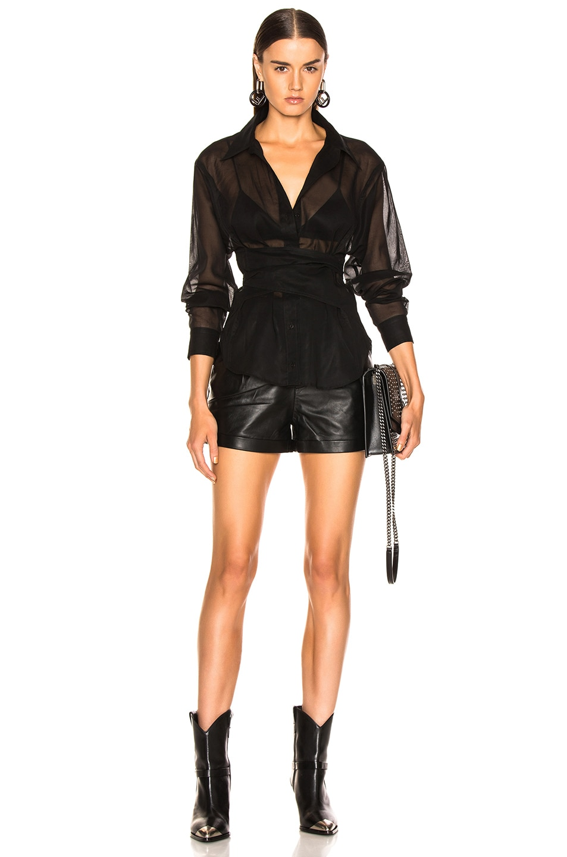Image 4 of JEAN ATELIER Simone Top in Black