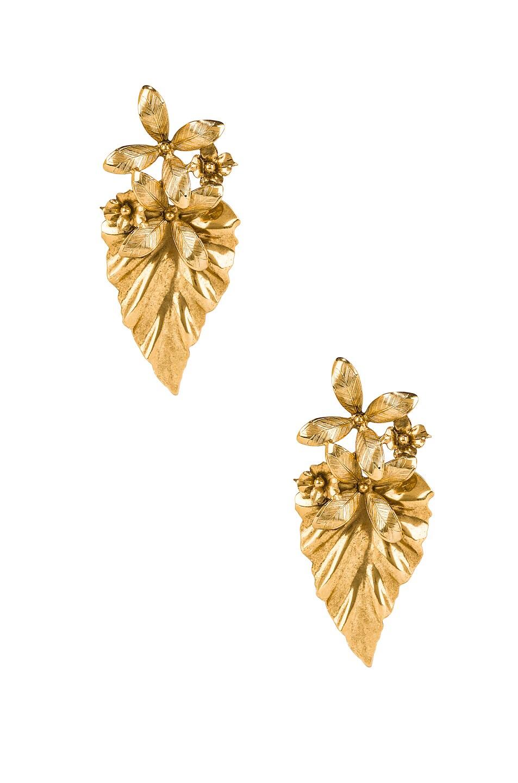 Image 1 of Jennifer Behr Kamille Earrings in Gold