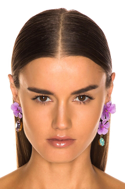 Image 4 of Jennifer Behr Jacinta Earrings in Lavender