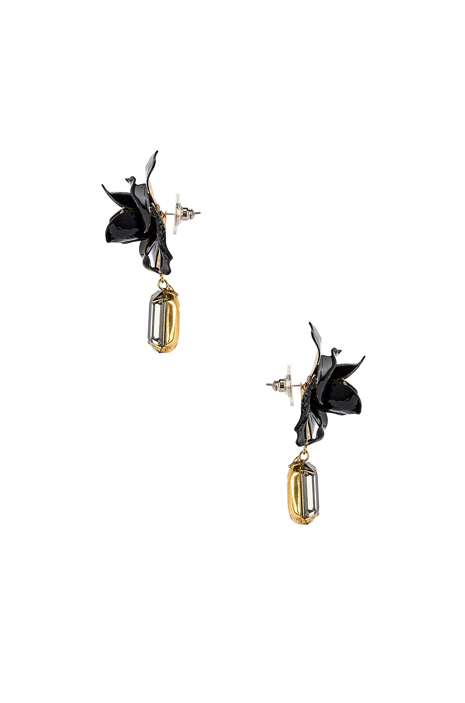 Image 3 of Jennifer Behr Cordelia Earrings in Black