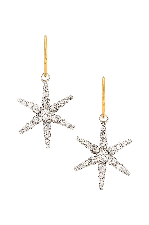 Image 1 of Jennifer Behr Ciel Hoop Earrings in Crystal