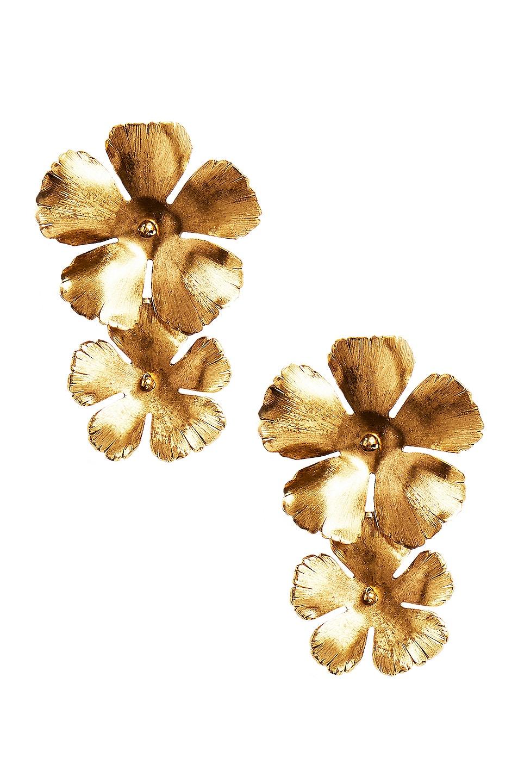 Image 1 of Jennifer Behr Chloe Earrings in Gold
