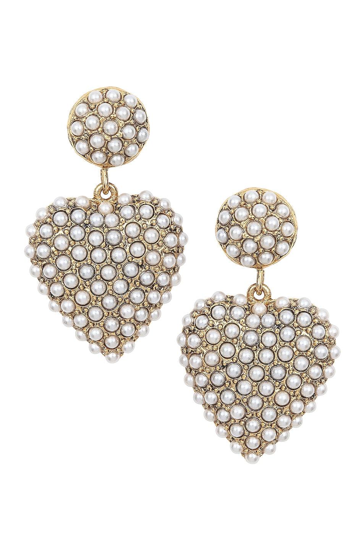 Image 1 of Jennifer Behr Amelie Earrings in Gold