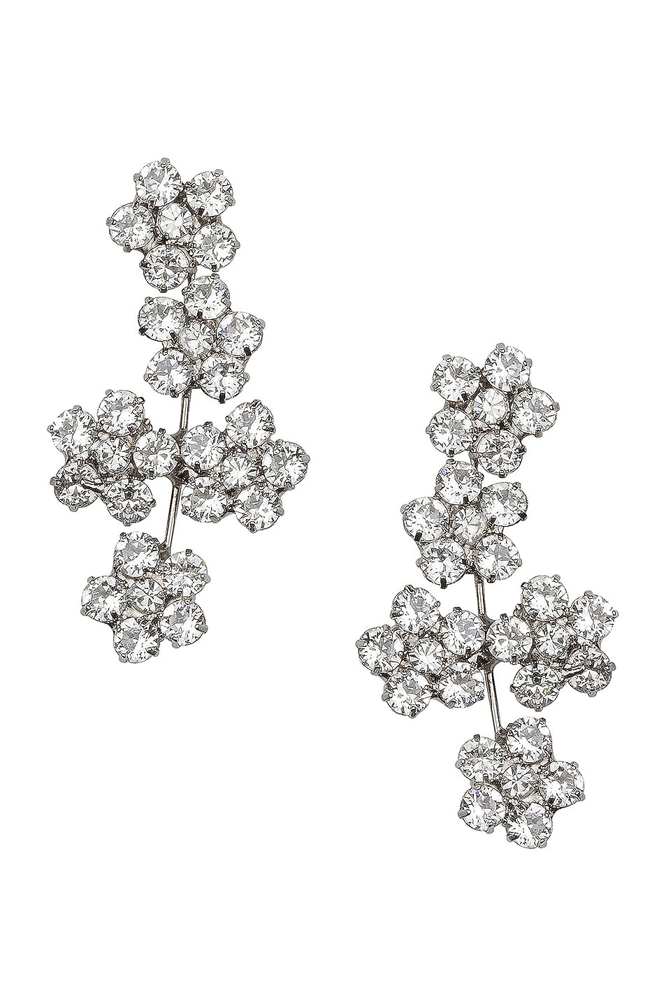 Image 1 of Jennifer Behr Juliette Earrings in Crystal