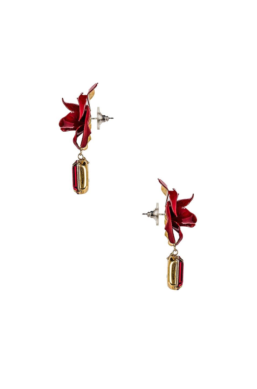 Image 3 of Jennifer Behr Cordelia Earrings in Crimson