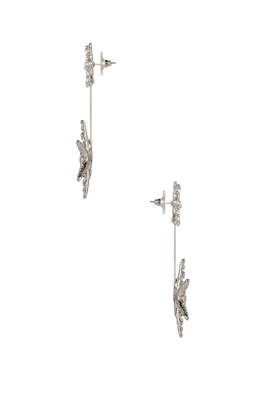 Image 2 of Jennifer Behr Estee Earrings in Crystal