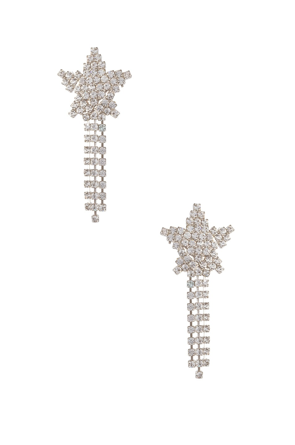 Image 1 of Jennifer Behr Shooting Star Earrings in Crystal