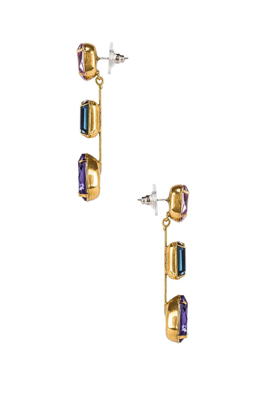 Image 2 of Jennifer Behr Allanah Earrings in Peacock