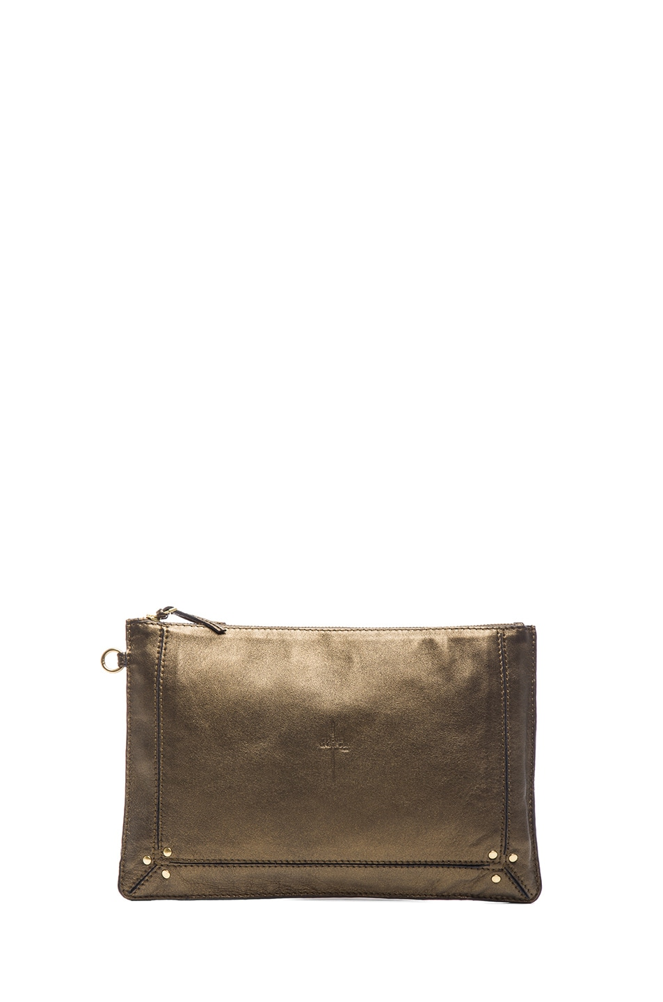 Image 1 of Jerome Dreyfuss Large Popoche Clutch in Modore