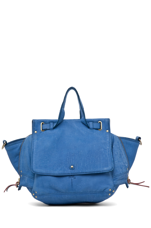 Image 1 of Jerome Dreyfuss Johan Bag in Denim Bleu