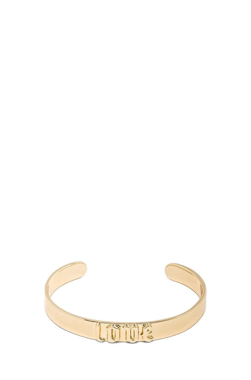Image 1 of Jennifer Fisher Small Love Cuff in Brass
