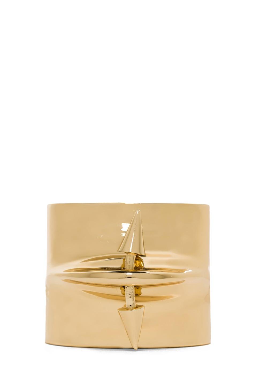 Image 1 of Jennifer Fisher Pierced Cuff in Brass